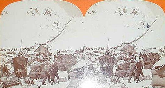 klondike gold rush miners. Chilkoot Pass ~ Klondike Gold