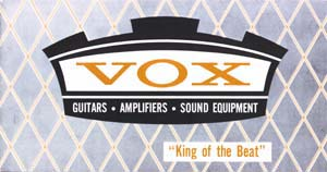 Vox 1965 King of the Beat Catalog