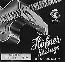Hofner Bass Flatwound Strings
