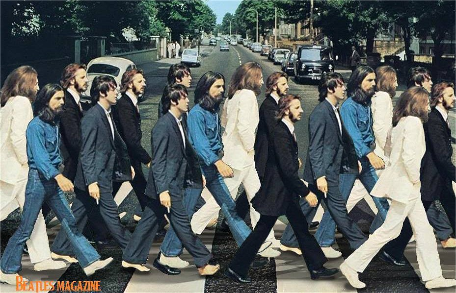 15. Band: Beatles Crosswalk