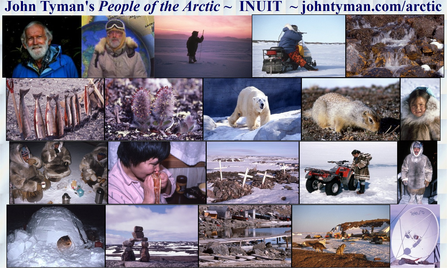 inuit people of the arctic by john tyman contents