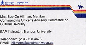 Sue-On: RCMP and Brandon University