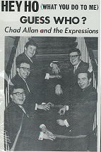 Chad Allan and the Expressions / Guess Who? from second album