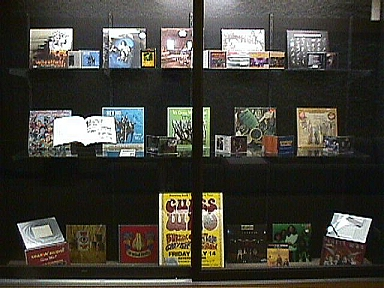 Display of Guess Who Albums, Books and Collectibles