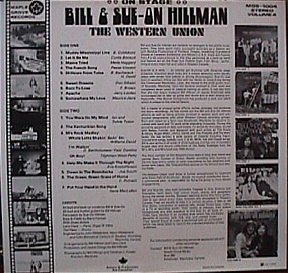Bill and Sue-On Hillman Album No. 4