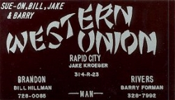 1969 Business Card