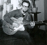 Bill Hillman with Gretsch Nashville Guitar: Early '60s