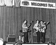 Bill Hillman with the Dovermen On Stage: Winnipeg Auditorium 1964