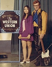 Our Western Union TV Show in the late 60s