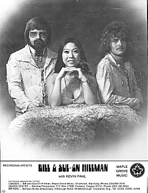 Bill ~ Sue-On ~ Kevin: 1976 Promo Photo