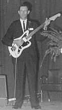 Luther Perkins with Fender Jazzmaster