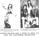 Newspaper ad: Jeannie C. Riley and Western Union