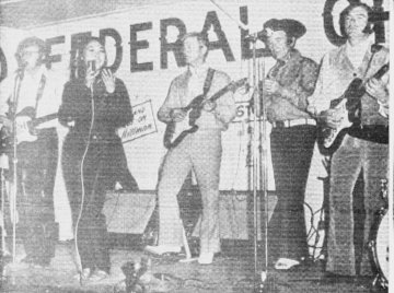 On Stage in Moose Jaw ~ July 1970