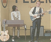 Sue-On and Bill On Stage - Summer Tour Late '60s