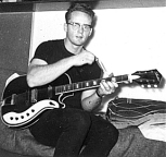 Silvertone Guitar and Bill Hillman