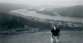 Bill with Peace River behind