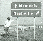 Cross Roads: As in music direction: torn between Memphis and Nashville