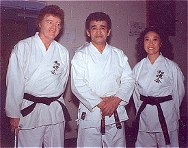 Bill Hillman ~ Sensei Shintani ~ Sue-On Hillman