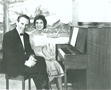 Hymn Time on Co-o-p TV Jamboree: Russ Gurr and Irene Hrushowy