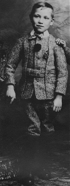 Russ's father: one of the Barnardo children from England