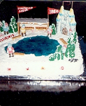 Strathclair Arena Centennial Cake for Ice Follies Show