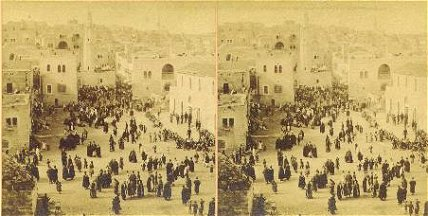 Christmas Day in Bethleham 1898