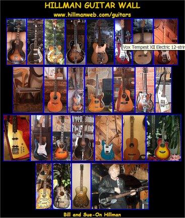 Guitar steel guitar tablature : Hillman Guitars 09: Link II - Pedal Steel Guitar