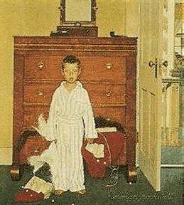 Norman Rockwell Christmas I